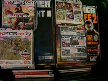 PC Gamer Magazines  and Demo Disc's Collection